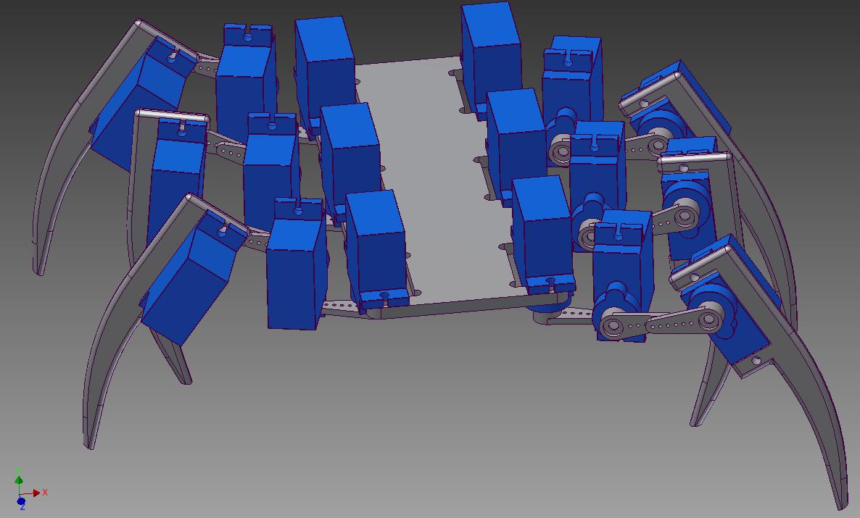 Dirt cheap hexapod free robot plans & blueprints