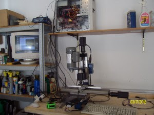 Taig CNC mini mill set-up